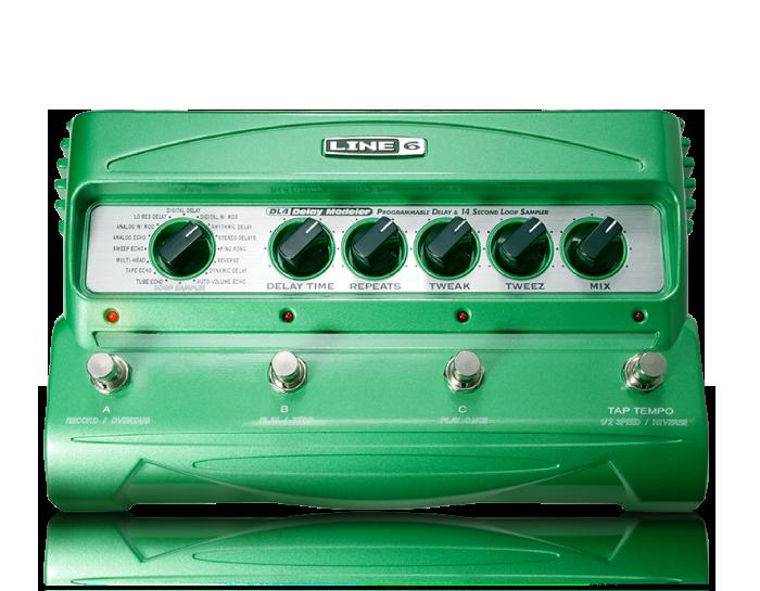 line 6 dl 4 stompbox modeler digital delay effect pedal live louder