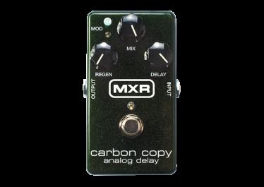 MXR Carbon Copy reg Analog Delay pedal