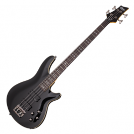 Schecter-Omen-4-Gloss-Black-Bass-Guitar