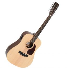 Sigma DM12E twelve string acoustic guitar