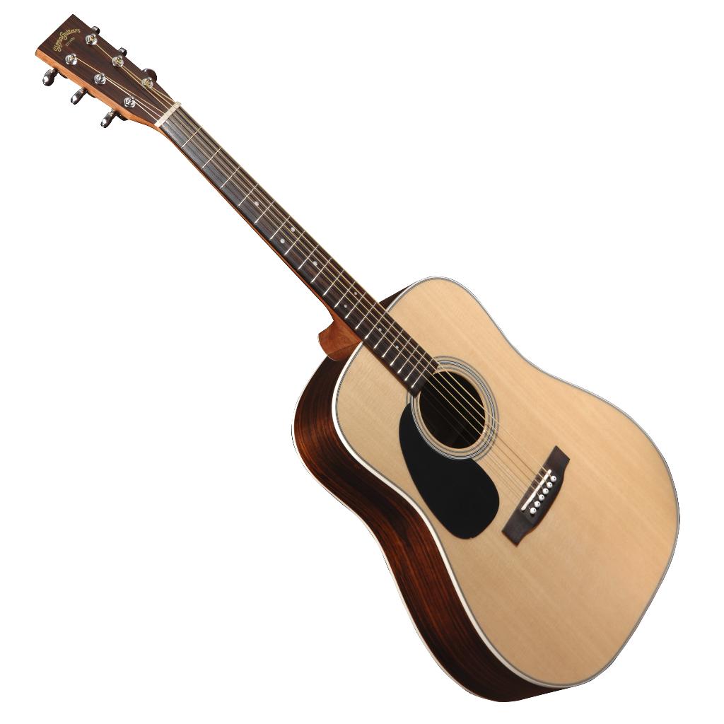 sigma dr 28l dreadnought acoustic guitar left handed live louder. Black Bedroom Furniture Sets. Home Design Ideas