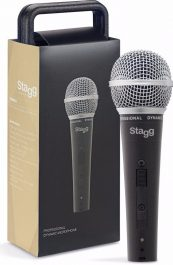 Stagg SDM50 Professional cardioid dynamic microphone with cartridge DC78