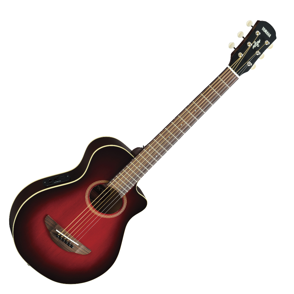 yamaha apxt2 electro acoustic travel guitar dark sun red live louder. Black Bedroom Furniture Sets. Home Design Ideas
