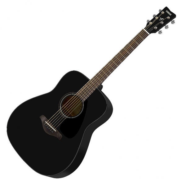 Yamaha fg800 bl acoustic guitar black live louder for Yamaha fg800 price in india