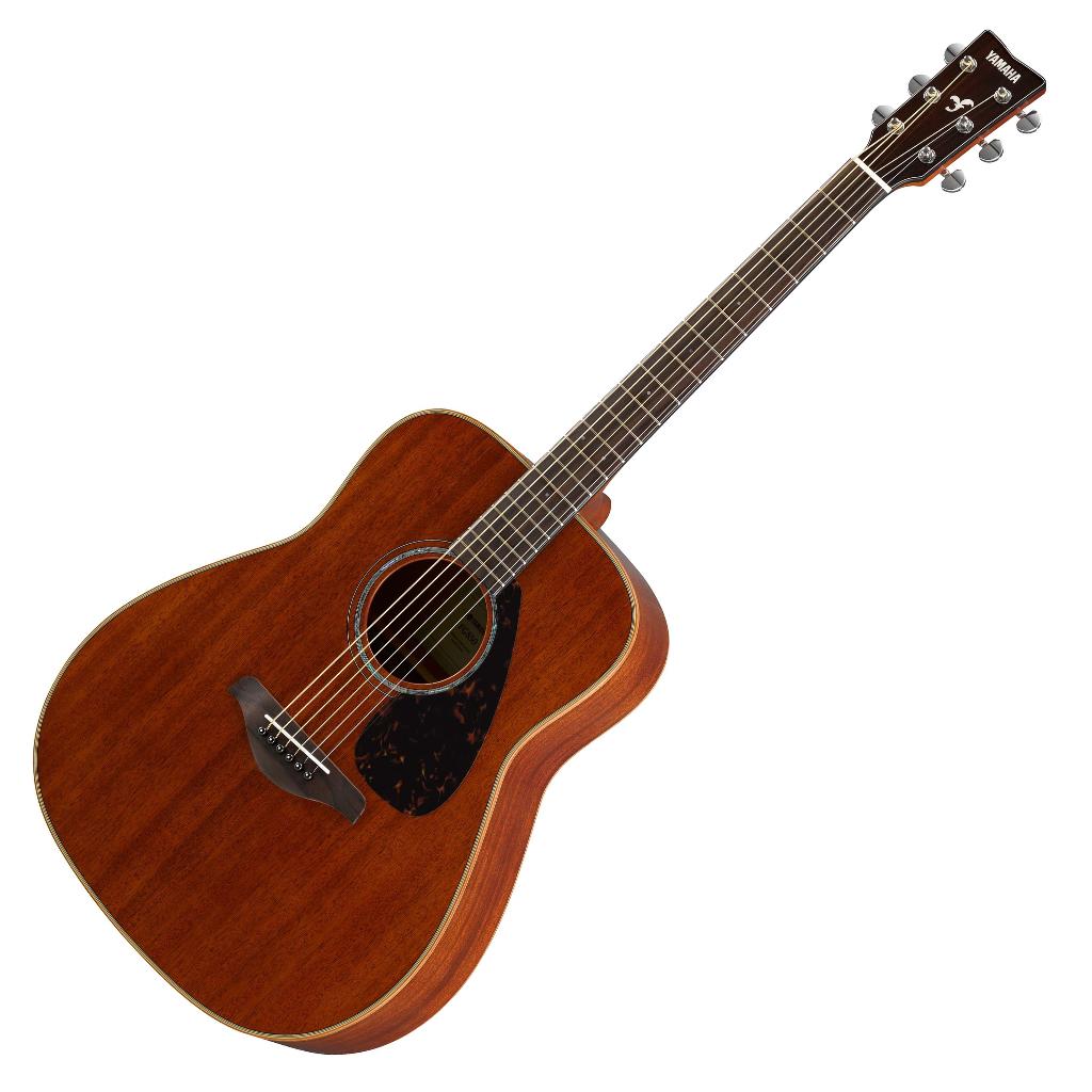 yamaha fg850 mahogany acoustic guitar natural live louder. Black Bedroom Furniture Sets. Home Design Ideas
