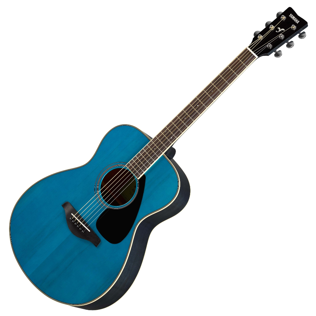 yamaha fs820tq small body acoustic guitar turquoise live louder. Black Bedroom Furniture Sets. Home Design Ideas