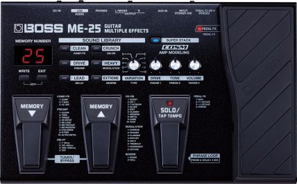 Boss ME-25 Guitar Multi-FX Unit