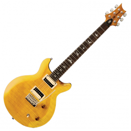 prs-se-santana-electric-guitar-front-yellow