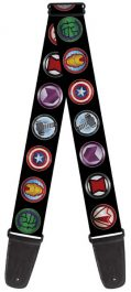 Buckle-Down Guitar Strap GS-WAV065