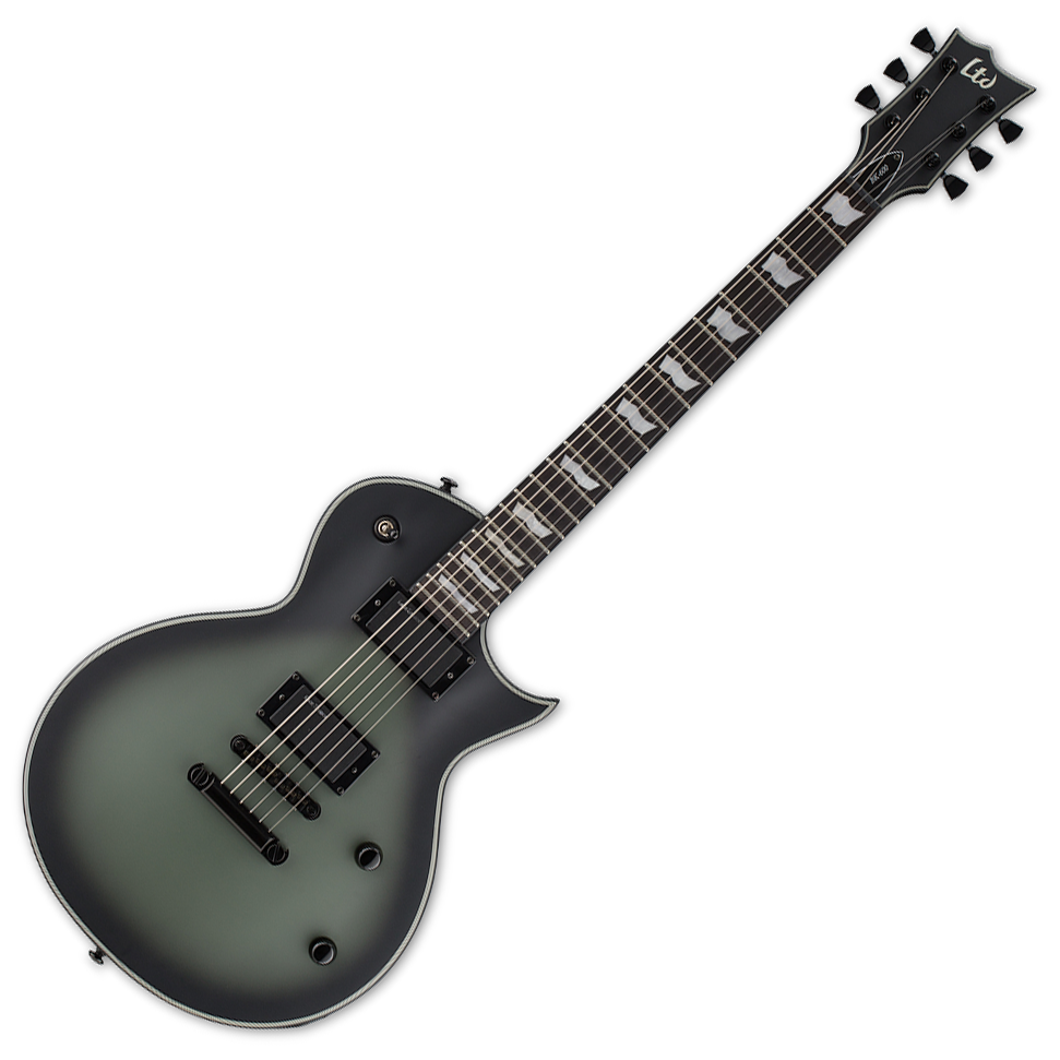 esp ltd bk 600 bill kelliher military green sunburst satin slight finish flaw live louder. Black Bedroom Furniture Sets. Home Design Ideas