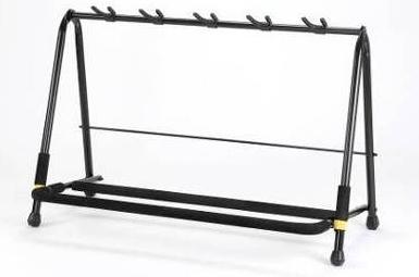 hercules guitar rack stand for 5 guitars gs525b live louder. Black Bedroom Furniture Sets. Home Design Ideas