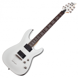 Schecter-Demon-6-WHT
