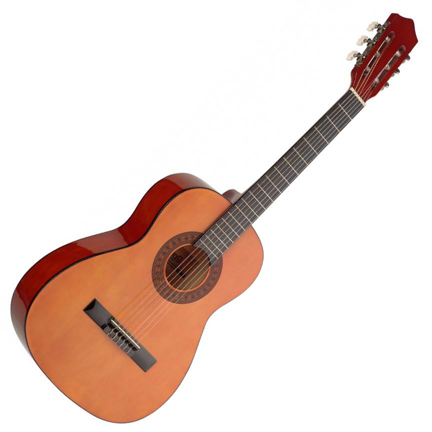 stagg c530 3 4 size classical guitar natural live louder. Black Bedroom Furniture Sets. Home Design Ideas