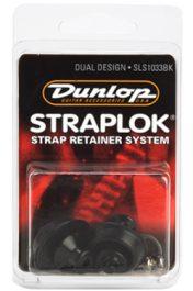 Dunlop Straplok Dual Design System, Black