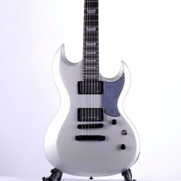 Schecter-Platinum-S-II-Silver-Electric-Guitar-b