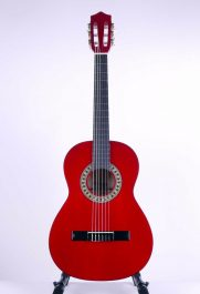 Stagg--C530-TR-Classical-Guitar-three-quarter-size,-Trans-Red-a