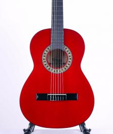Stagg--C530-TR-Classical-Guitar-three-quarter-size,-Trans-Red-b