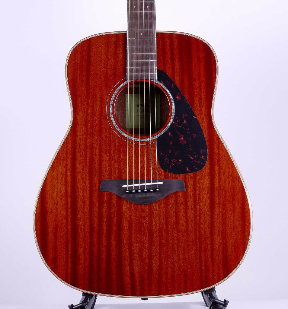 Yamaha fg850 mahogany acoustic guitar natural live louder for Yamaha classic guitar