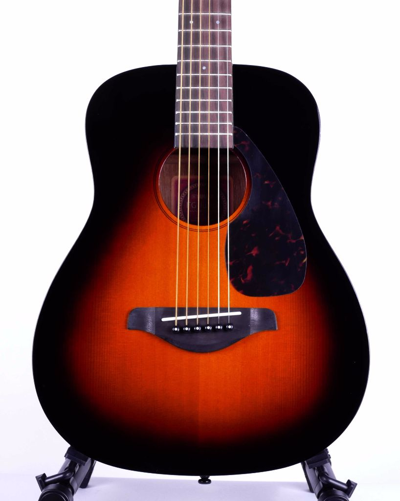 Yamaha jr2s tbs solid top 3 4 sized acoustic guitar for 3 4 yamaha acoustic guitar