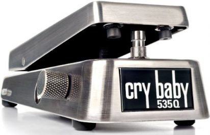 Dunlop 535Q Cry Baby Wah Chrome