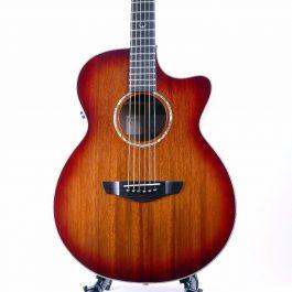 Faith FVBMB Venus Blood Moon Burst Electro Acoustic Guitar 5
