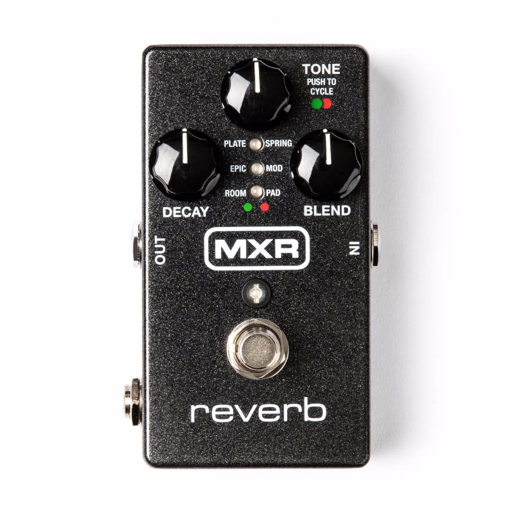mxr m300 digital reverb pedal live louder. Black Bedroom Furniture Sets. Home Design Ideas