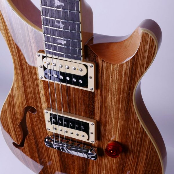 PRS SE Custom 22 Semi-Hollow Zebrawood Limited Edition 3