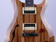 PRS SE Custom 22 Semi-Hollow Zebrawood Limited Edition 7