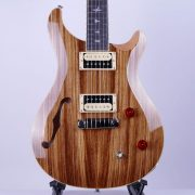 PRS SE Custom 22 Semi-Hollow Zebrawood Limited Edition 8