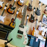 G&L Fallout Sea Foam Green