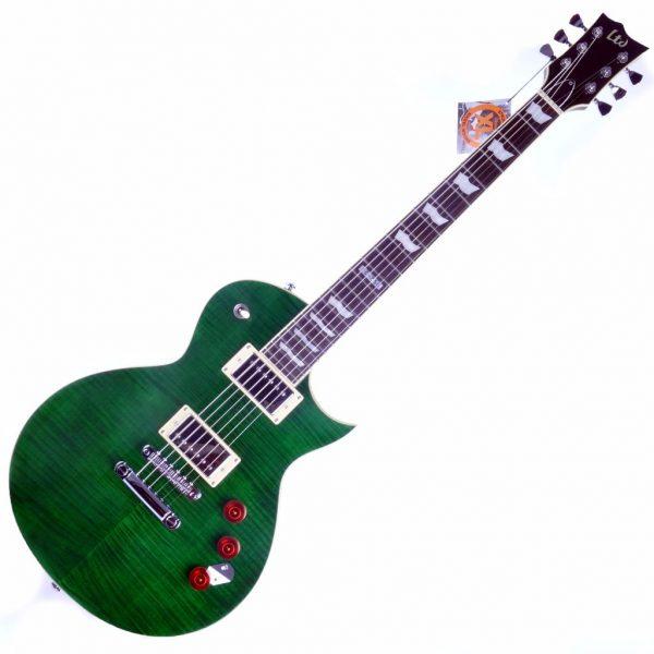 ESP-LTD-EC-256-STG-See-Thru-Green-Front-1