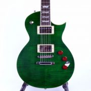 ESP-LTD-EC-256-STG-See-Thru-Green-Front