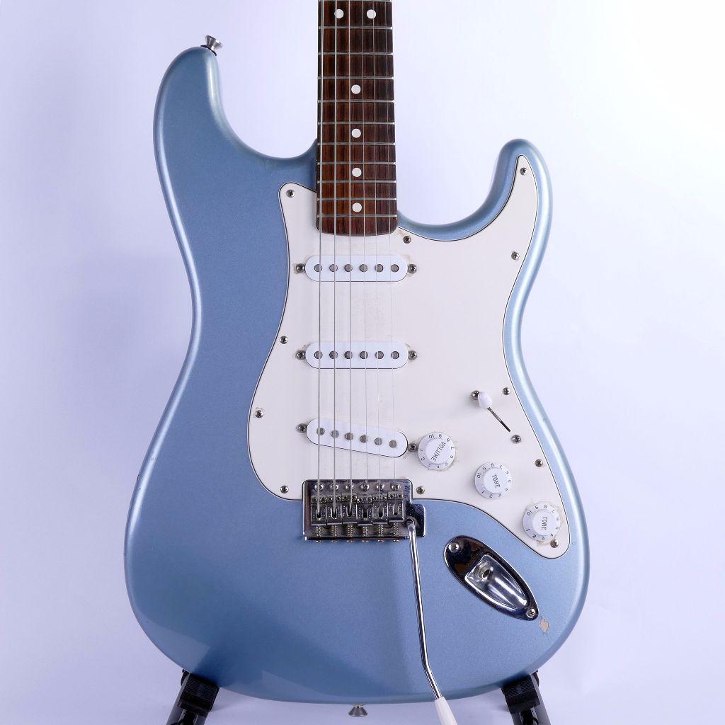 fender standard stratocaster rw blue agave w gig bag live louder. Black Bedroom Furniture Sets. Home Design Ideas