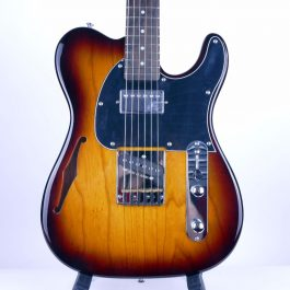 G&L Tribute ASAT Bluesboy Semi Hollow Tobacco Sunburst