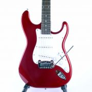 G&L Tribute Legacy Candy Apple Red Front