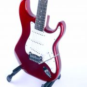 G&L Tribute Legacy Candy Apple Red Side
