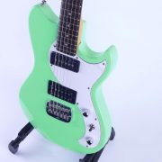 G&L Tribute Fallout Sea Foam Mint Green side