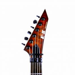 ESP E-II Horizon FR-II Tiger Eye Sunburst TESB Headstock