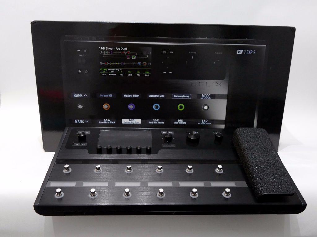 line 6 helix floor guitar processor multi effects unit ex demo live louder