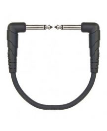 Planet Waves Classic Series Patch Cable 6in right angled