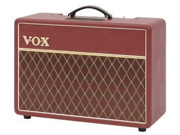 Vox AC10C1 Maroon Bronco Angle