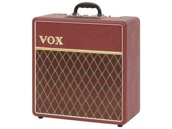 Vox AC4C1 Maroon Bronco Angle