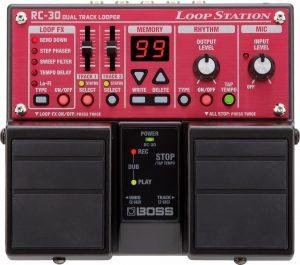 Boss RC-30 Loop Station top