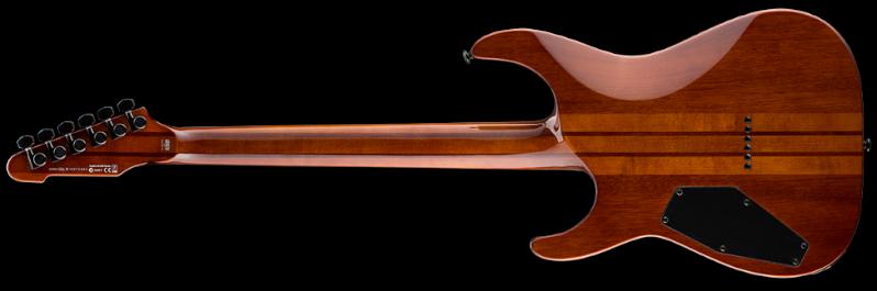 ESP LTD M-1000HT Koa Natural Gloss back