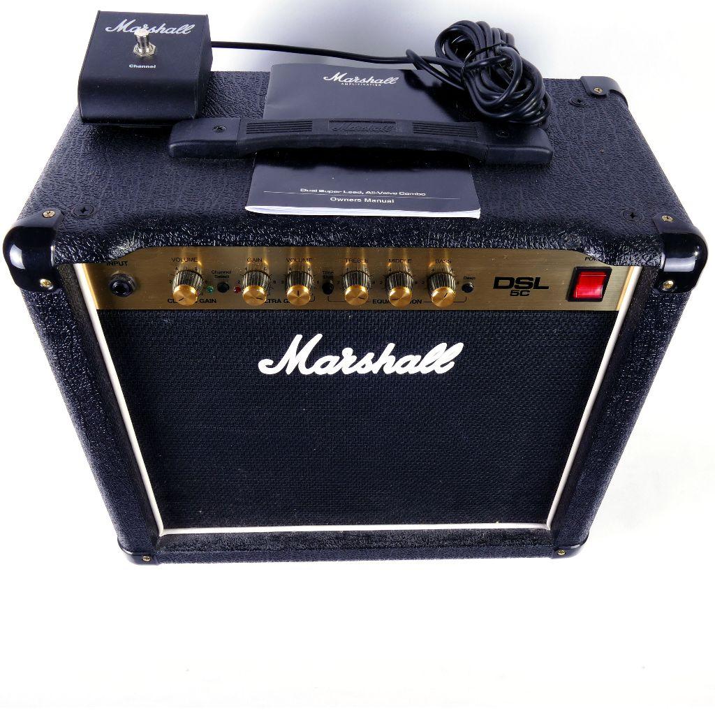marshall dsl5c 5 watt valve guitar amp combo preowned live louder. Black Bedroom Furniture Sets. Home Design Ideas