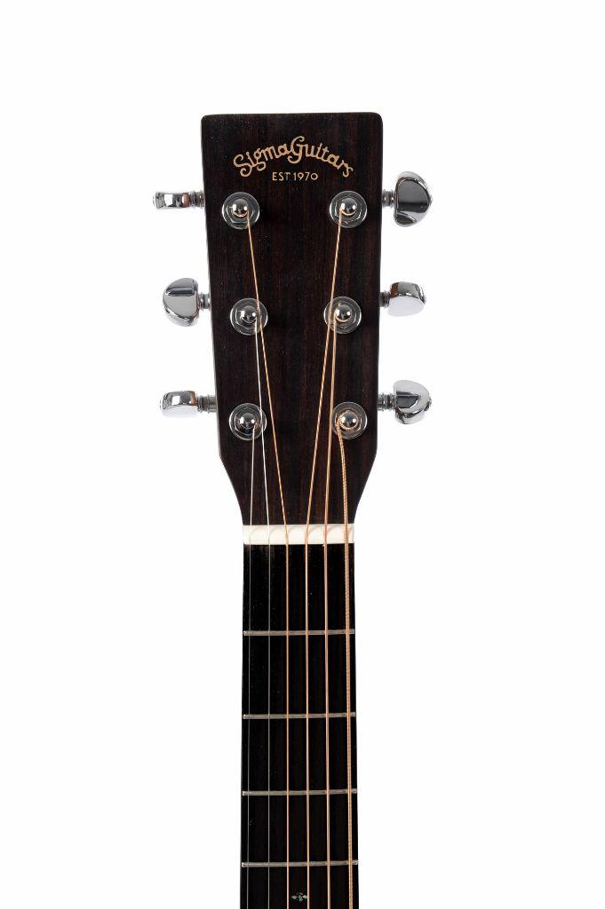 sigma 000mc 15el mahogany electro acoustic guitar left handed live louder. Black Bedroom Furniture Sets. Home Design Ideas